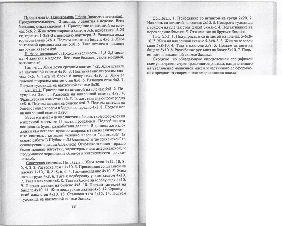 система Бориса Плинтовича