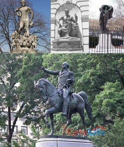 статуи Чарльз Атлас