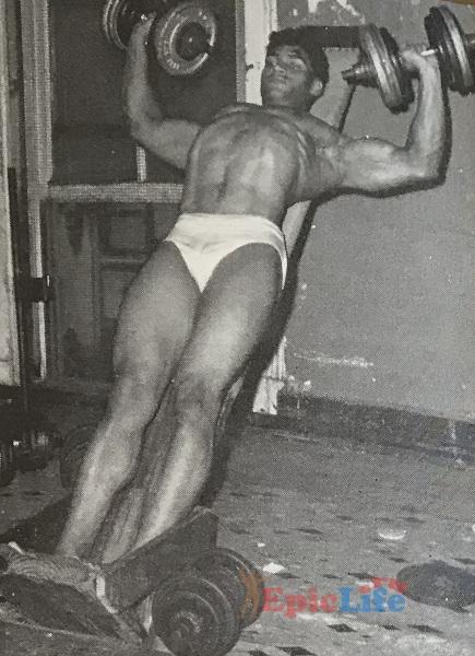 Тренировки Гарольда Пула
