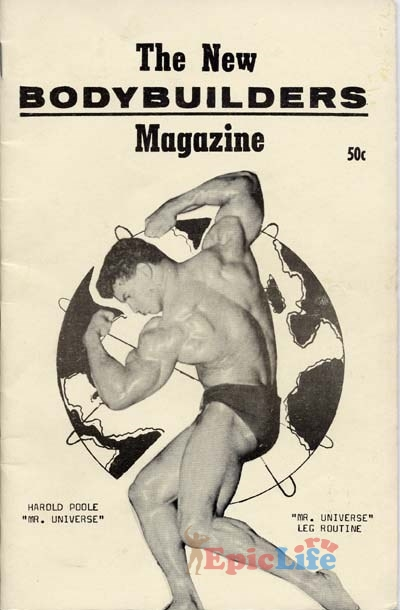 Гарольд Пул на обложке журнала