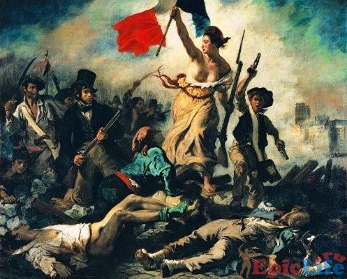 Богиня победы Марсельеза