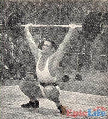 тяжелая атлетика джон гримек