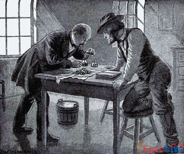 Зутр изучает находку, найденную плотником