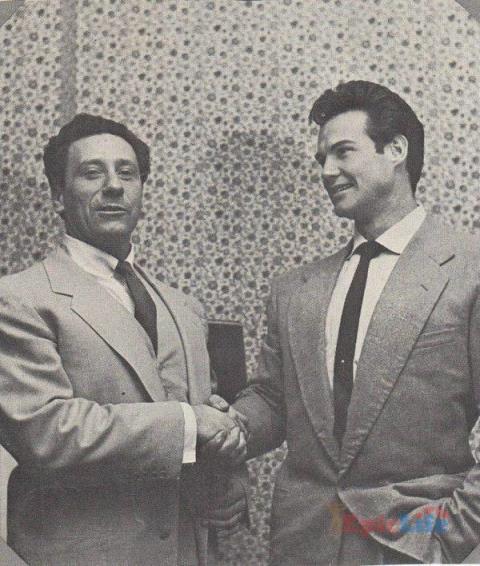 Стив Ривз и Джо Вейдер