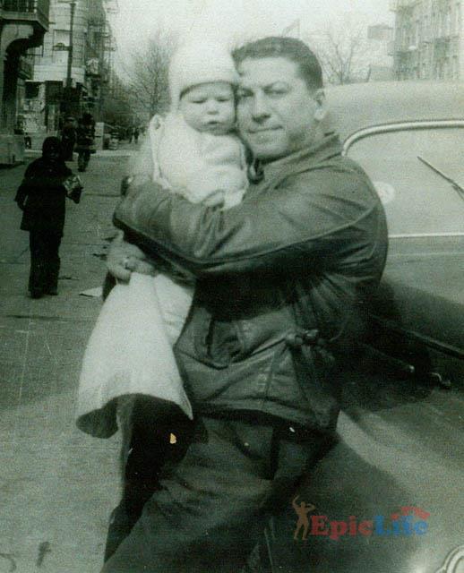 дон лури с ребенком